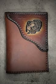 Confederate Flag Wallet Turkey Tri Fold Wallet Turkey Hunter Wallet Initials Or Name