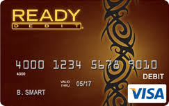 ready prepaid card readydebit visa latte prepaid card
