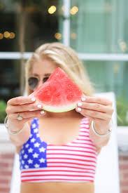 bentley watermelon 4th of july swimwear