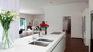 modern white kitchen dark floor also modern white kitchen dark