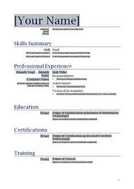Free Sample Resume Template by Free Printable Sample Resume Templates Http Www Resumecareer