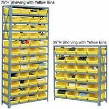 Storage Bin Shelves by Akro Mils Aprs080 White Single Sided Pick Rack With 32 30080 White