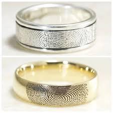 pictures wedding rings images Brent jess custom handmade fingerprint wedding rings jpg