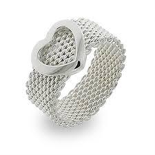 heart style rings images Mesh diamond rings wedding promise diamond engagement rings jpg