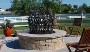 Large Firepit Age Large Outdoor Pit Kit Station Landscape