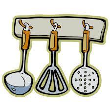 cuisine et ustensiles stickers ustensiles clicanddeco