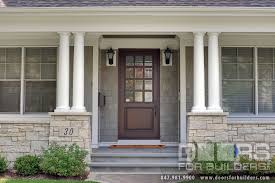 Exterior Solid Wood Doors by Wood Exterior Doors With Glass Home Interior Design