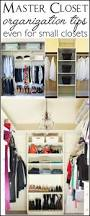 how to organize the master bedroom closet no matter the size
