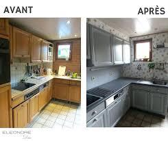 renovation cuisine bois avant apres cuisine renovee chene alaqssa info