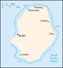 niue on world map niue