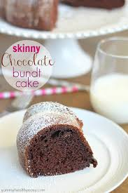 skinny chocolate bundt cake recipe sugar free pudding