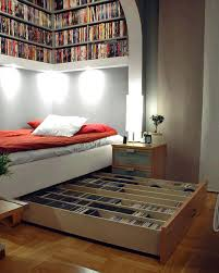 overhead bed storage overhead under bed space saving shelving storage