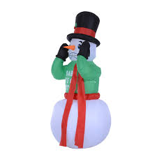 Costco Lighted Snowman by Christmas Moose Yard Decorations Christmas Decorations 2017