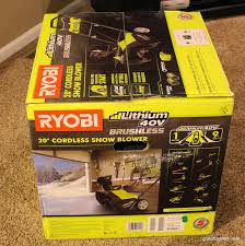 gratuitous tech ryobi battery powered snow blower review does it