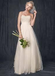wedding dresses that you look slimmer wedding dress sle sale in various styles david s bridal