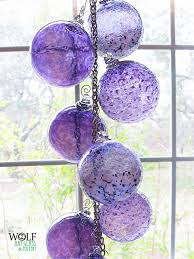 blown glass ornament carriewolf net