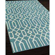 Outdoor Rugs Overstock Indoor Outdoor Blue Links Area Rug 8 6 X 13 Overstock