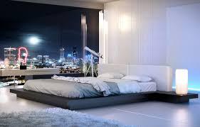 worth king platform bed modloft hb39a k wen wht king