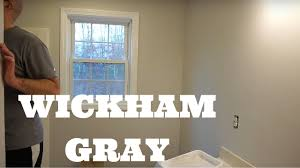benjimin moore benjamin moore wickham gray for the win home improvement vlog