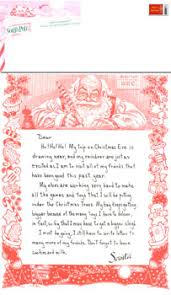 personalized letter from santa personalized letter from santa after christmas visit
