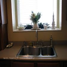 Kitchen Window Sill Decorating Ideas by Kitchen Window Sill Decorating Gramp Us