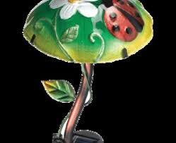 Ladybug Solar Garden Lights - ip 65 led mushroom solar garden light ip 65 led mushroom solar