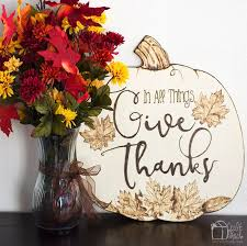 in all things give thanks craft shack chronicles