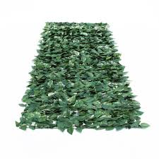 uland garden plastic chain link privacy fence 1x3m decorative