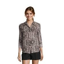 snake print blouse 83 haute hippie tops haute hippie taupe black snake print