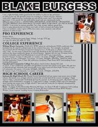 Champs Sports Resume Volleyball Resume Sports Resumes Recruiting Flyers Pinterest