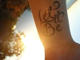 let it be favorites tatting and piercings