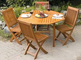 Wood Patio Table Octagon Patio Table Cast Aluminum Festcinetarapaca Furniture