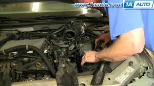 how to install replace air filter buick regal century v6 97 05