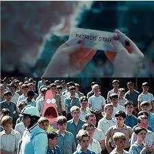 I Volunteer Meme - spongebob i volunteer as tribute meme by midget devil