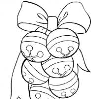 christmas bells coloring page christmas decore