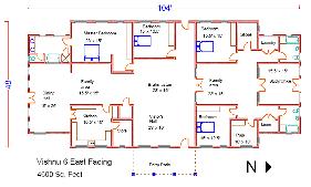 House Layout Design As Per Vastu Vishnu Series Pre Designed Vastu Homes