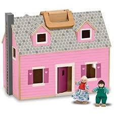 Best Eco Friendly Dollhouses From by Viga Eco Friendly Wooden Dollhouse U0026 Furniture Set Amazon Co Uk