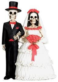 skeleton wedding cake toppers skeleton wedding cake topper and groom day of the