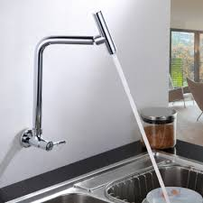wall kitchen faucet single handle wall mount kitchen faucet wall mounted single handle