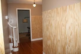 worn cotton hallway beadboard