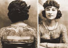 why not a short history of women and tattoos the official blog