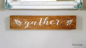 how to make a farmhouse sign and a free printable diy beautify
