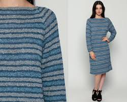 80s sweater dress sweater dress 80s midi striped knit raglan 90s grunge shift