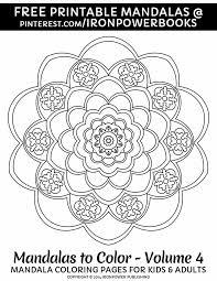 247 mandala images coloring books