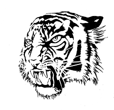 tiger tattoo by krio0ut on deviantart