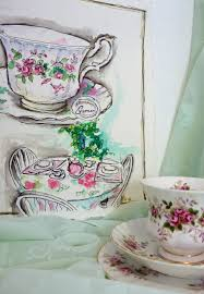 tracey fletcher king new colours and a tea party