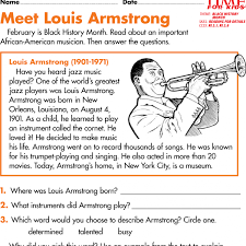 black history month printables time for kids literacy worksheets
