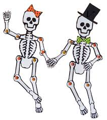 Cut And Paste Halloween Printables by Halloween Printable Skeletons U2013 Festival Collections