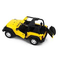 jeep rubicon yellow радиоуправляемый джип mz jeep rubicon yellow электропривод дверей