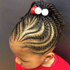 straight back hairstyle braided hairstyles for kids straight back hair is our crown kids
